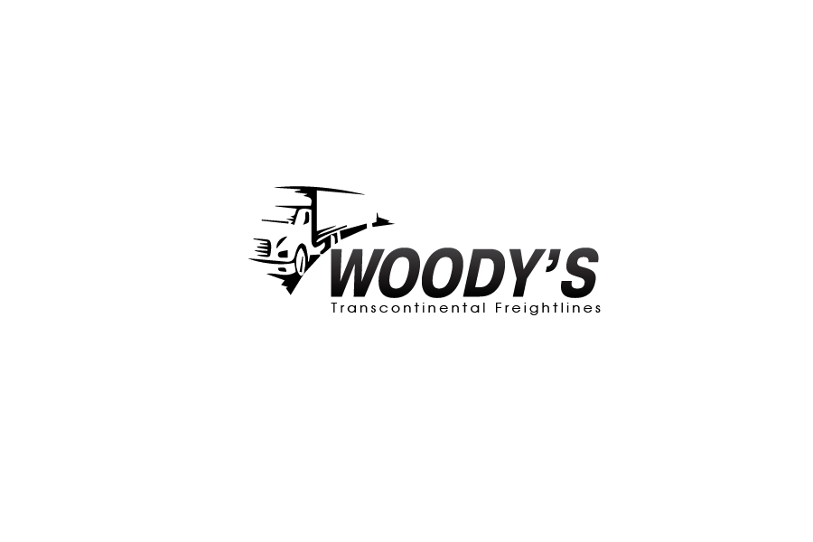 Logo Design by brands_in - Entry No. 17 in the Logo Design Contest Creative Logo Design for Woody's Transcontinental Freightlines.