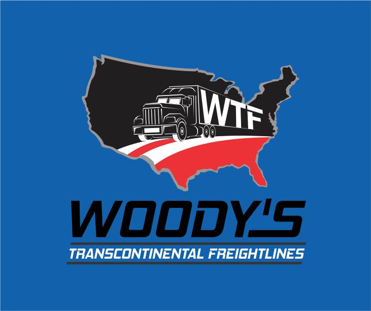Logo Design by ronny - Entry No. 18 in the Logo Design Contest Creative Logo Design for Woody's Transcontinental Freightlines.