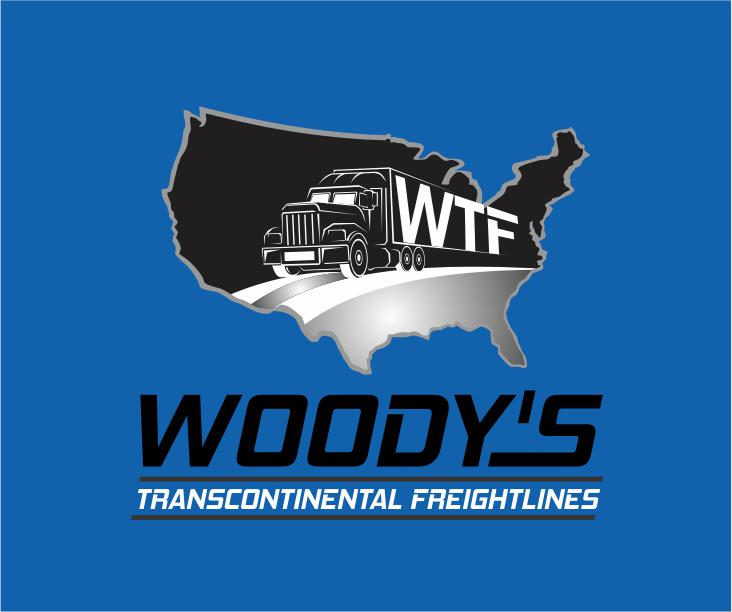 Logo Design by ronny - Entry No. 20 in the Logo Design Contest Creative Logo Design for Woody's Transcontinental Freightlines.