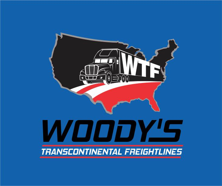 Logo Design by ronny - Entry No. 23 in the Logo Design Contest Creative Logo Design for Woody's Transcontinental Freightlines.