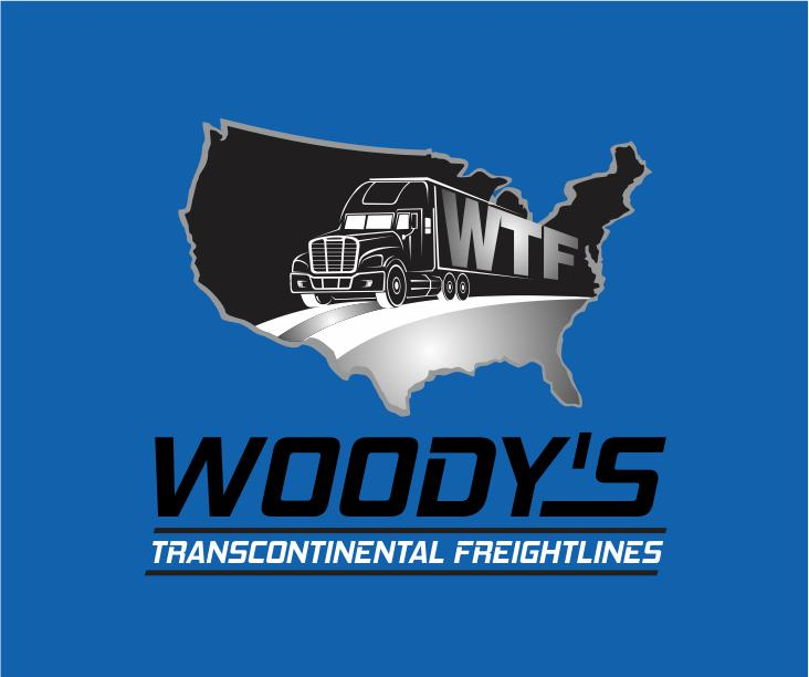 Logo Design by ronny - Entry No. 24 in the Logo Design Contest Creative Logo Design for Woody's Transcontinental Freightlines.