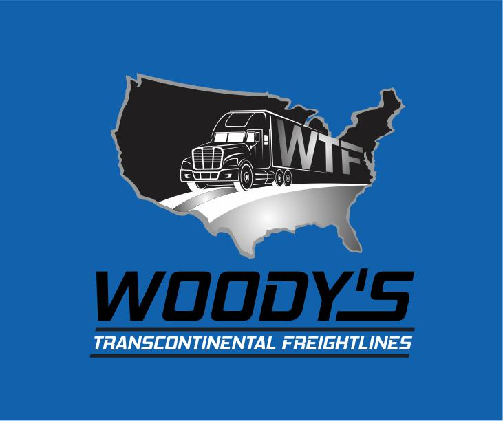 Logo Design by ronny - Entry No. 25 in the Logo Design Contest Creative Logo Design for Woody's Transcontinental Freightlines.
