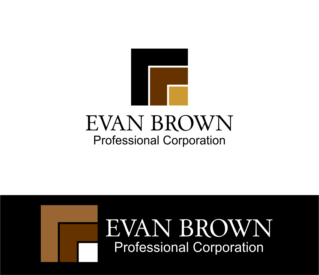 Logo Design by Agus Martoyo - Entry No. 234 in the Logo Design Contest Inspiring Logo Design for Evan Brown Professional Corporation.