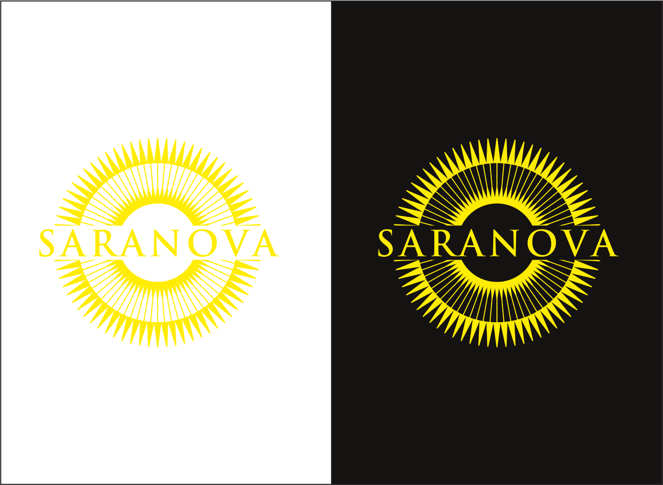 Logo Design by Danishafa  Srg Dsalfidation - Entry No. 96 in the Logo Design Contest Artistic Logo Design for Saranova.