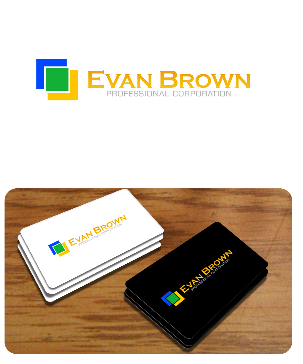 Logo Design by Private User - Entry No. 237 in the Logo Design Contest Inspiring Logo Design for Evan Brown Professional Corporation.