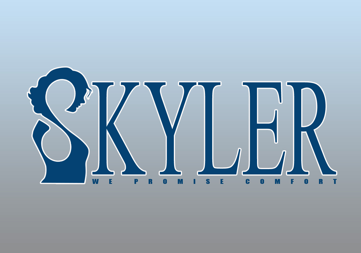 Logo Design by smokegroovechill - Entry No. 39 in the Logo Design Contest Skyler Clothing Logo.