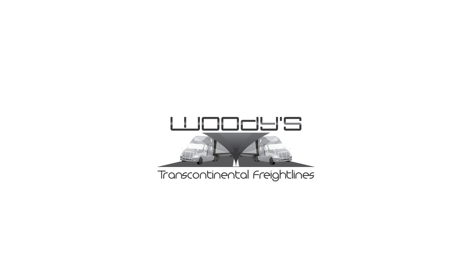 Logo Design by Private User - Entry No. 48 in the Logo Design Contest Creative Logo Design for Woody's Transcontinental Freightlines.