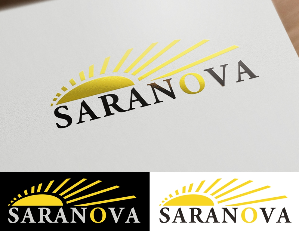 Logo Design by Juan_Kata - Entry No. 105 in the Logo Design Contest Artistic Logo Design for Saranova.