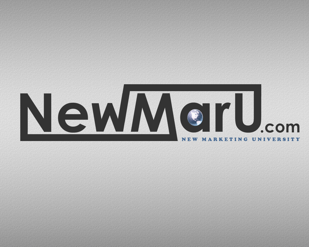Logo Design by smokegroovechill - Entry No. 1 in the Logo Design Contest NewMarU.com (New Marketing University).