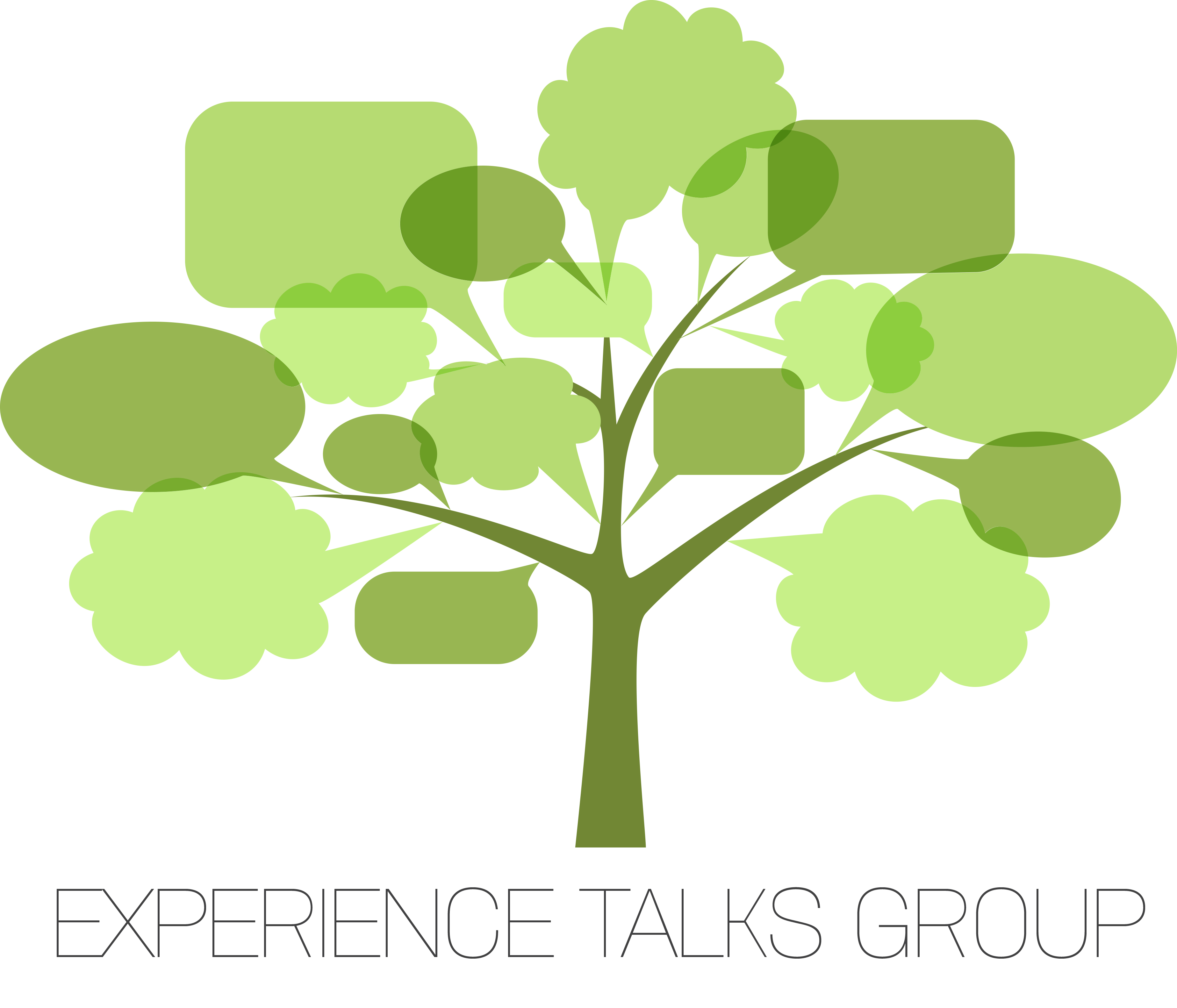 Logo Design by madis - Entry No. 2 in the Logo Design Contest Captivating Logo Design for Experience Talks Group.