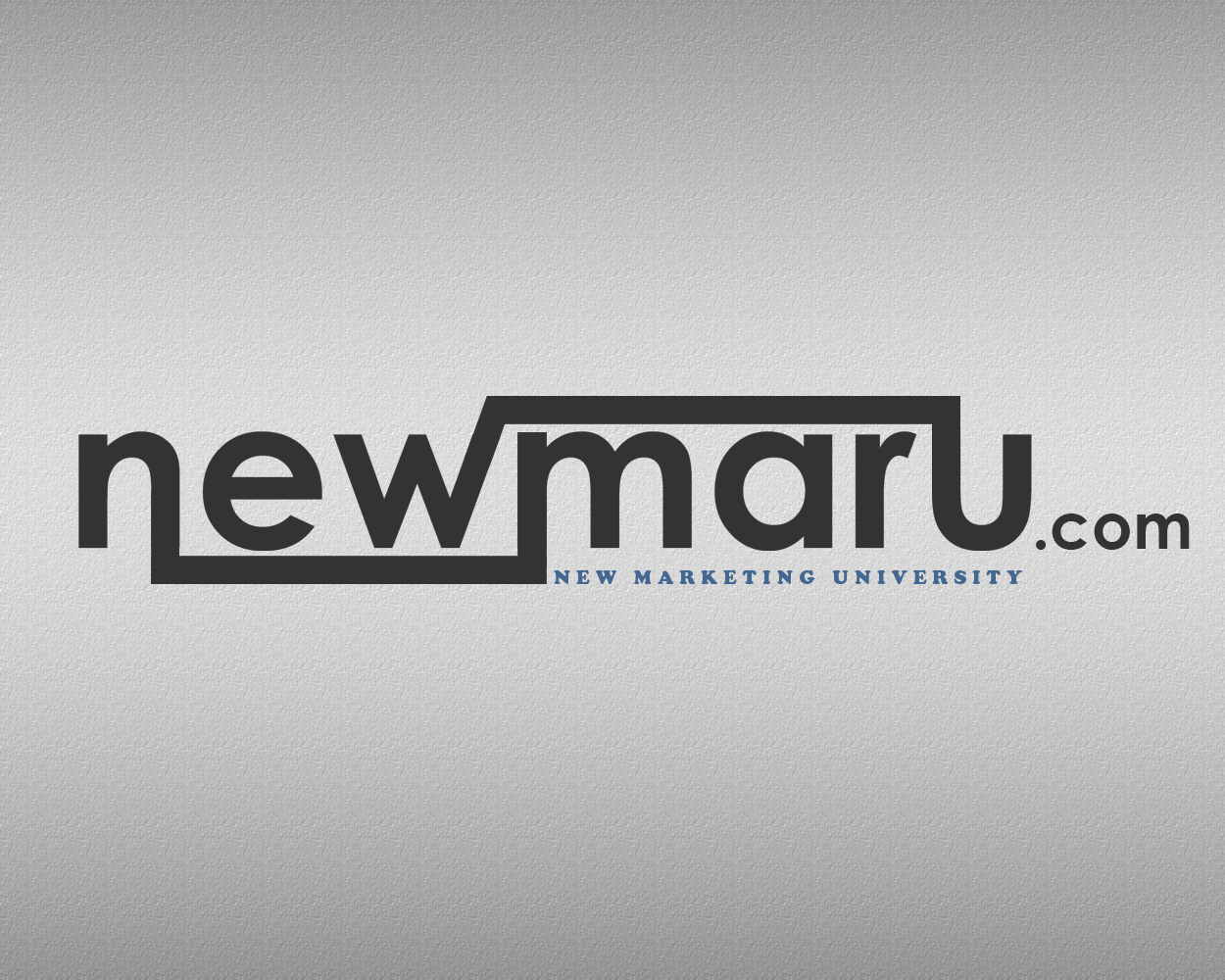 Logo Design by smokegroovechill - Entry No. 2 in the Logo Design Contest NewMarU.com (New Marketing University).