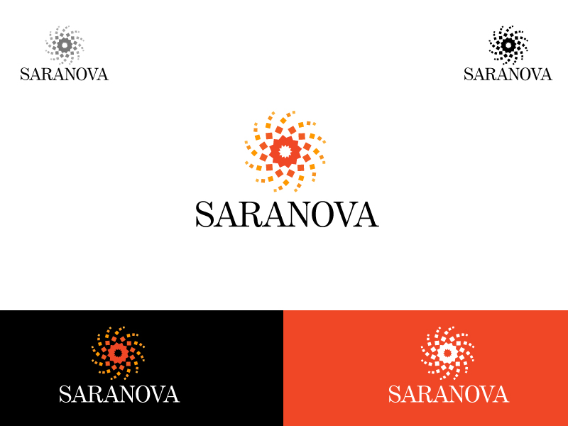 Logo Design by Kishor Patil - Entry No. 107 in the Logo Design Contest Artistic Logo Design for Saranova.