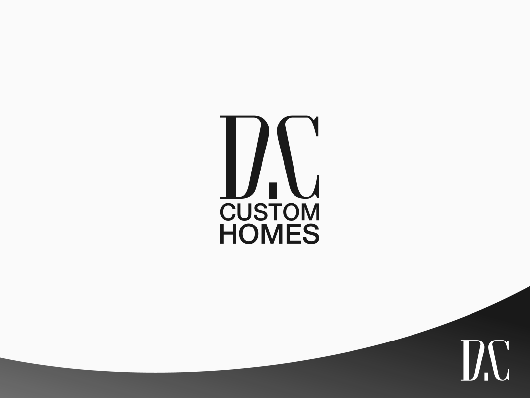 Logo Design by Jorge Sardon - Entry No. 5 in the Logo Design Contest Creative Logo Design for DC Custom Homes.