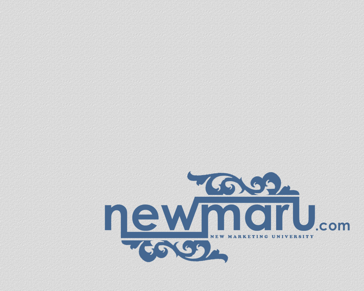 Logo Design by smokegroovechill - Entry No. 5 in the Logo Design Contest NewMarU.com (New Marketing University).