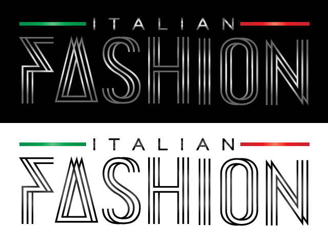 Logo Design by ronik.web - Entry No. 11 in the Logo Design Contest Logo for Web Page ItalianFashion.cz.