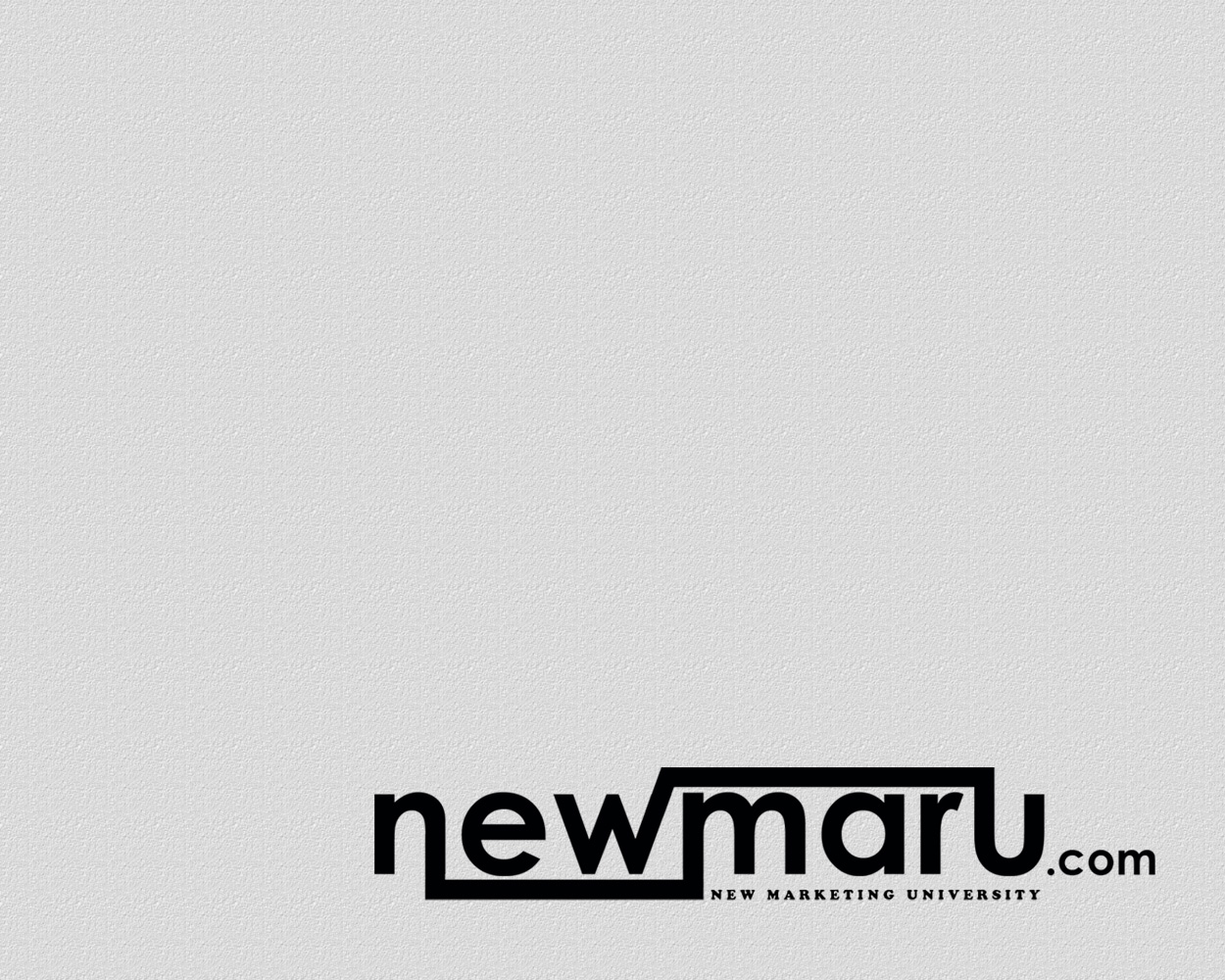 Logo Design by smokegroovechill - Entry No. 6 in the Logo Design Contest NewMarU.com (New Marketing University).