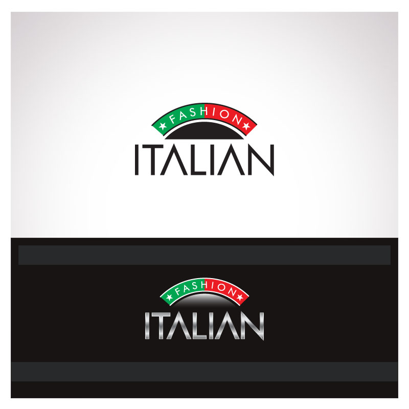 Logo Design by Puspita Wahyuni - Entry No. 14 in the Logo Design Contest Logo for Web Page ItalianFashion.cz.