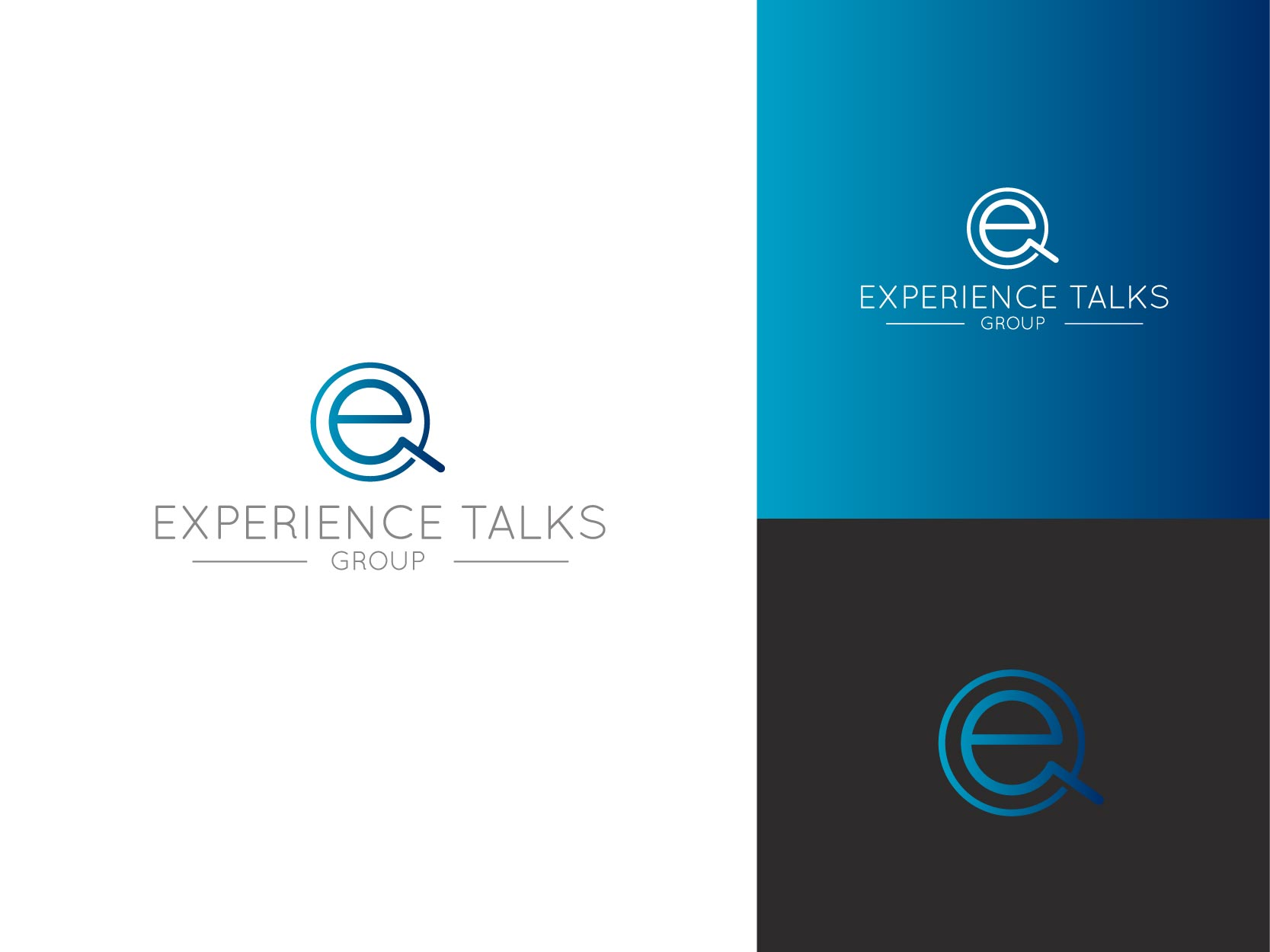 Logo Design by Osi Indra - Entry No. 8 in the Logo Design Contest Captivating Logo Design for Experience Talks Group.