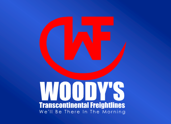 Logo Design by Ismail Adhi Wibowo - Entry No. 54 in the Logo Design Contest Creative Logo Design for Woody's Transcontinental Freightlines.