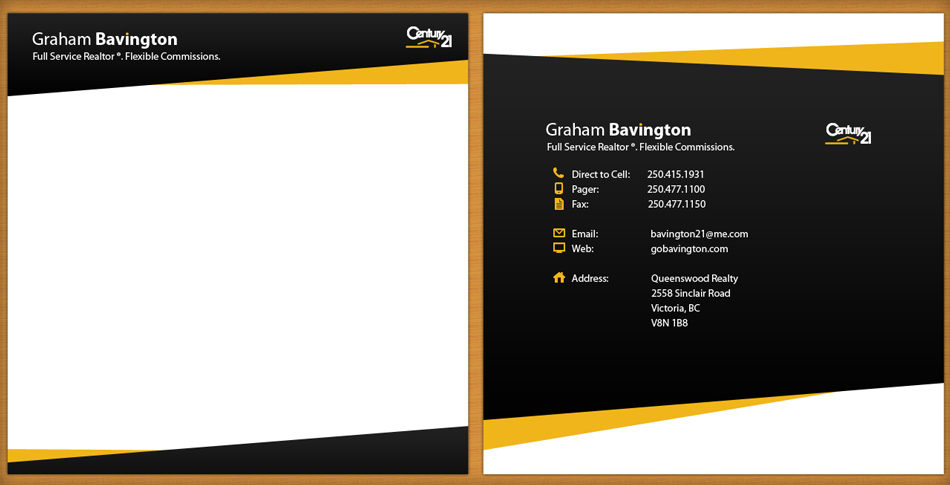 Business Card Design by Aysar - Entry No. 31 in the Business Card Design Contest Real Estate Business Card and Stationery.