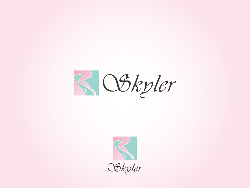 Logo Design by andrie - Entry No. 43 in the Logo Design Contest Skyler Clothing Logo.