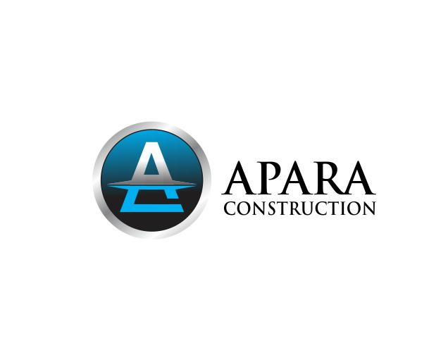 Logo Design by ronny - Entry No. 147 in the Logo Design Contest Apara Construction Logo Design.