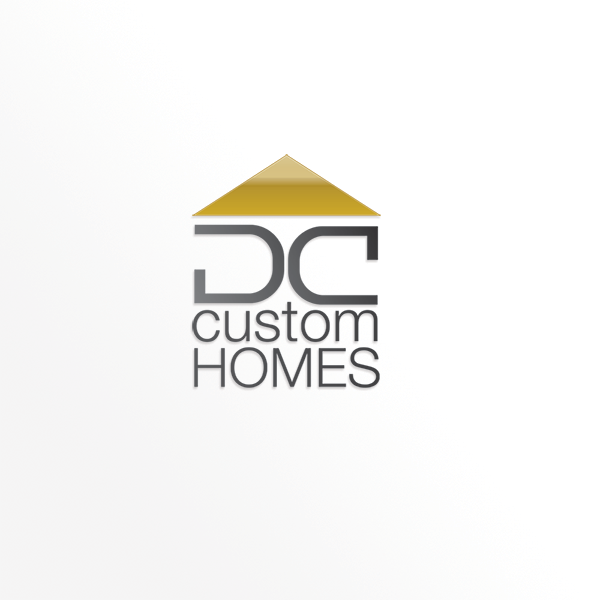 Logo Design by barbarouge - Entry No. 23 in the Logo Design Contest Creative Logo Design for DC Custom Homes.