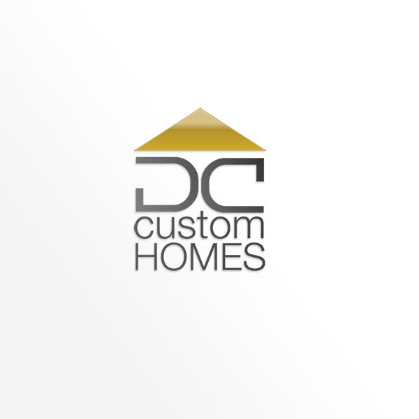 Logo Design by barbarouge - Entry No. 23 in the Logo Design Contest Creative Logo Design for DC Custom Homes.