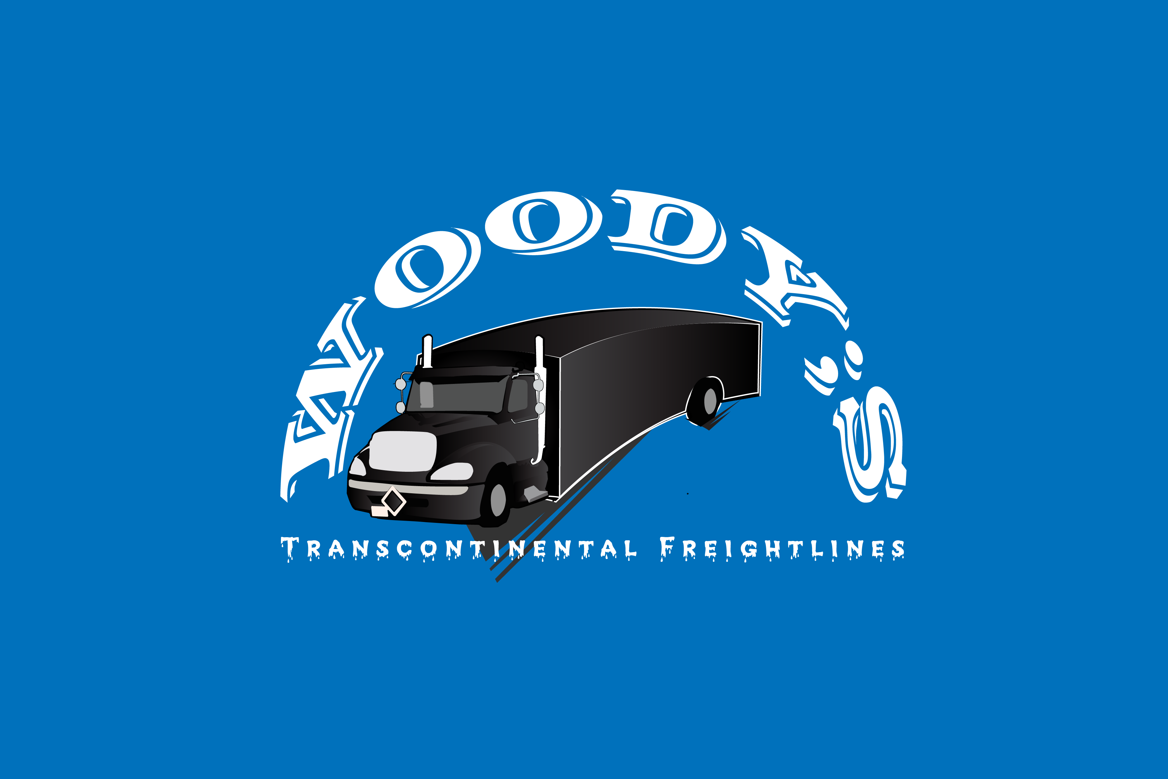 Logo Design by Private User - Entry No. 63 in the Logo Design Contest Creative Logo Design for Woody's Transcontinental Freightlines.