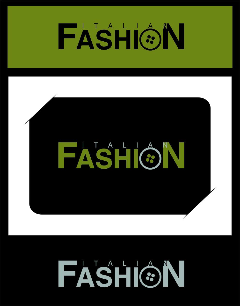 Logo Design by RasYa Muhammad Athaya - Entry No. 19 in the Logo Design Contest Logo for Web Page ItalianFashion.cz.