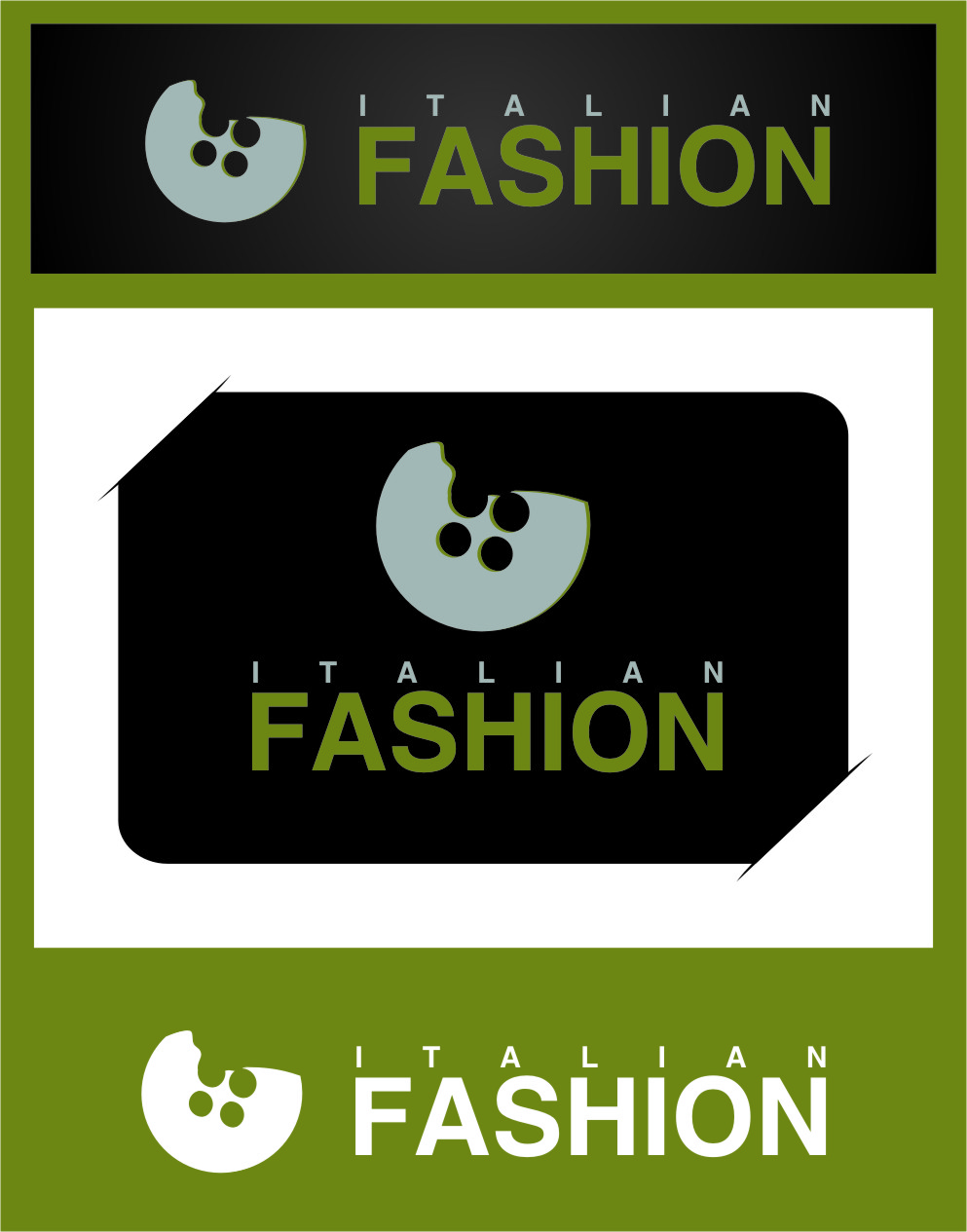 Logo Design by RasYa Muhammad Athaya - Entry No. 22 in the Logo Design Contest Logo for Web Page ItalianFashion.cz.