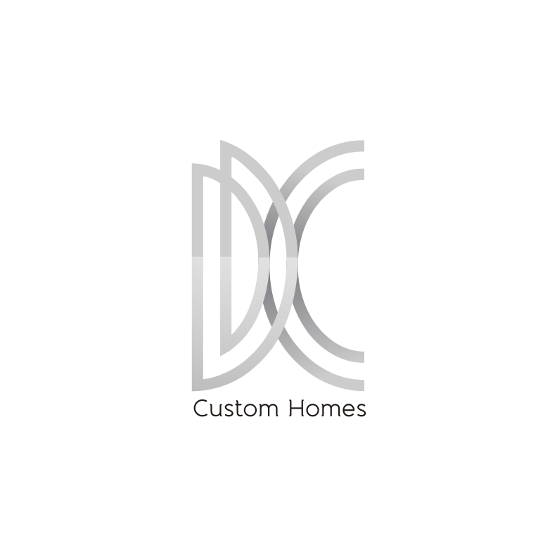 Logo Design by Muhammad Nasrul chasib - Entry No. 25 in the Logo Design Contest Creative Logo Design for DC Custom Homes.