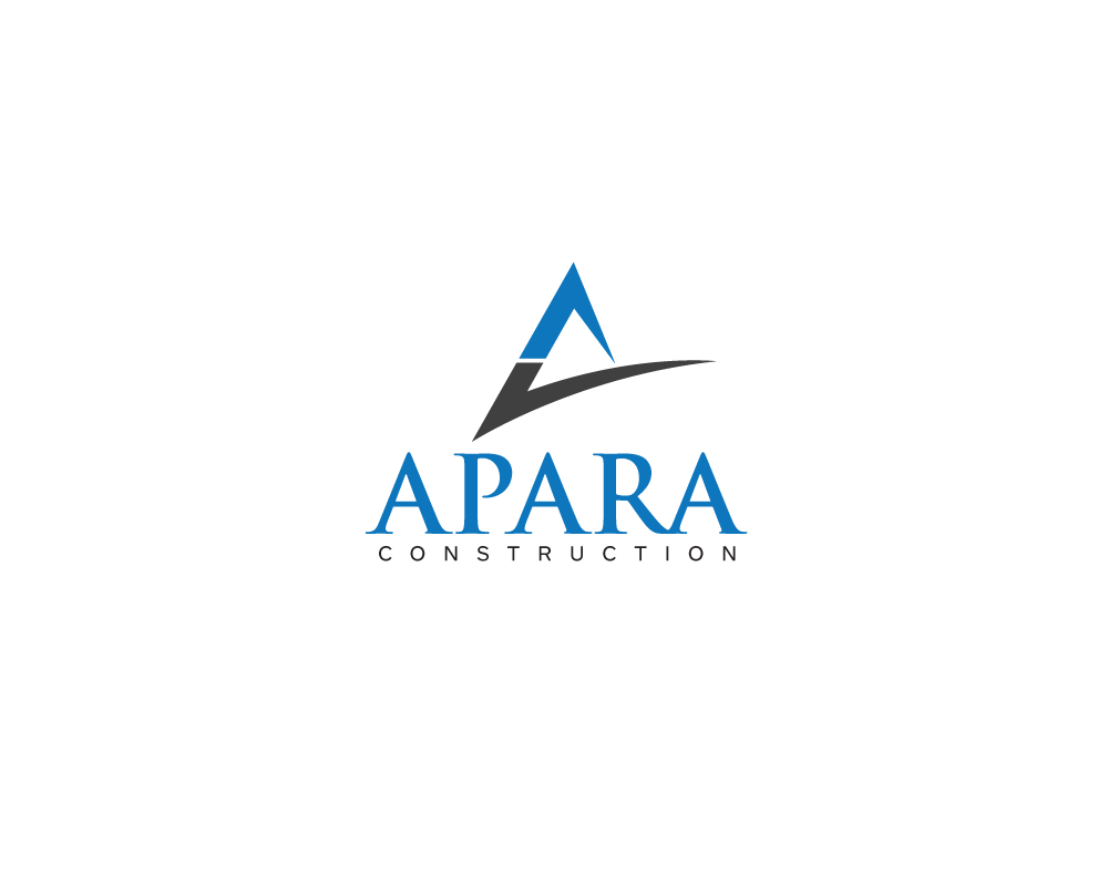 Logo Design by roc - Entry No. 150 in the Logo Design Contest Apara Construction Logo Design.