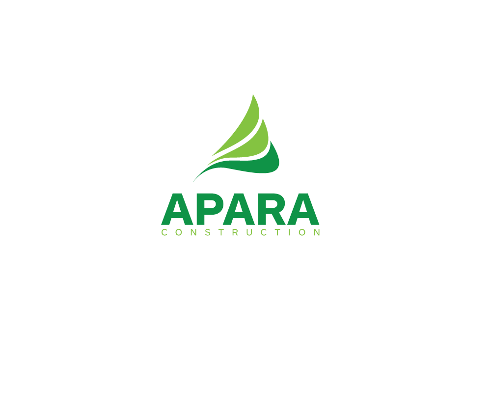 Logo Design by roc - Entry No. 151 in the Logo Design Contest Apara Construction Logo Design.