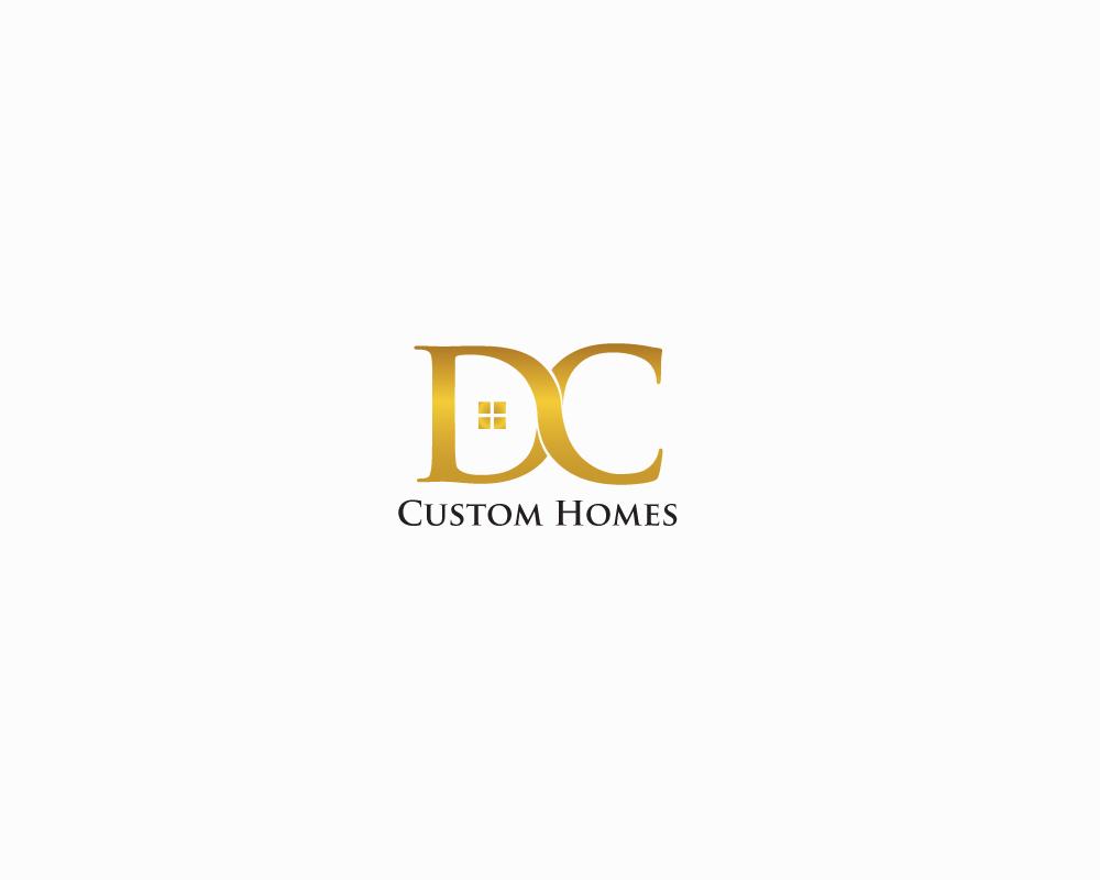 Logo Design by roc - Entry No. 28 in the Logo Design Contest Creative Logo Design for DC Custom Homes.