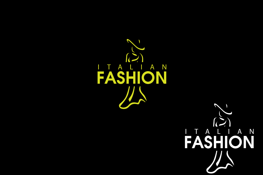 Logo Design by Private User - Entry No. 36 in the Logo Design Contest Logo for Web Page ItalianFashion.cz.
