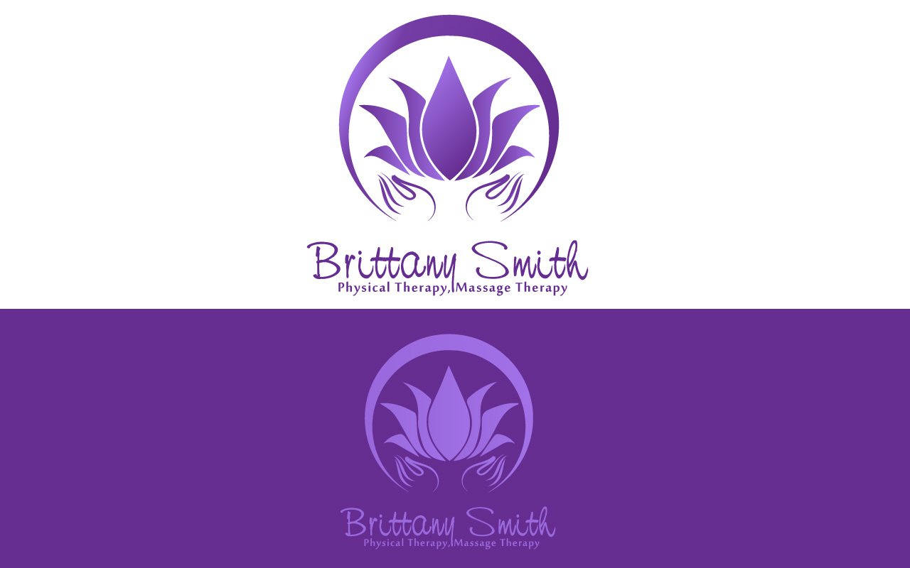 Logo Design by Jagdeep Singh - Entry No. 77 in the Logo Design Contest Artistic Logo Design for my personal massage therapy business.