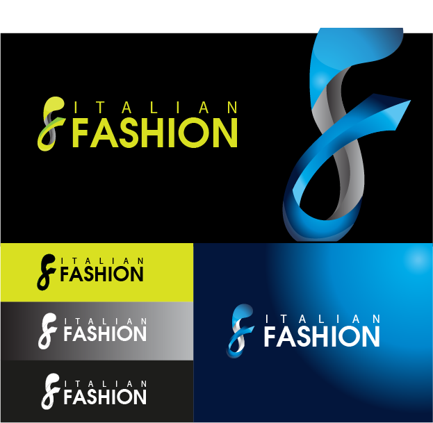 Logo Design by Private User - Entry No. 40 in the Logo Design Contest Logo for Web Page ItalianFashion.cz.