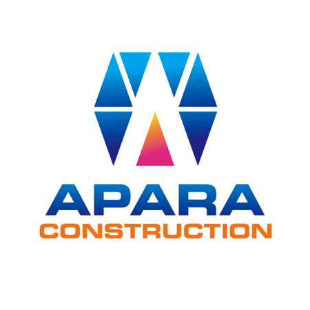 Logo Design by Private User - Entry No. 158 in the Logo Design Contest Apara Construction Logo Design.