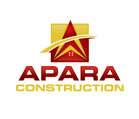 Logo Design by Private User - Entry No. 159 in the Logo Design Contest Apara Construction Logo Design.