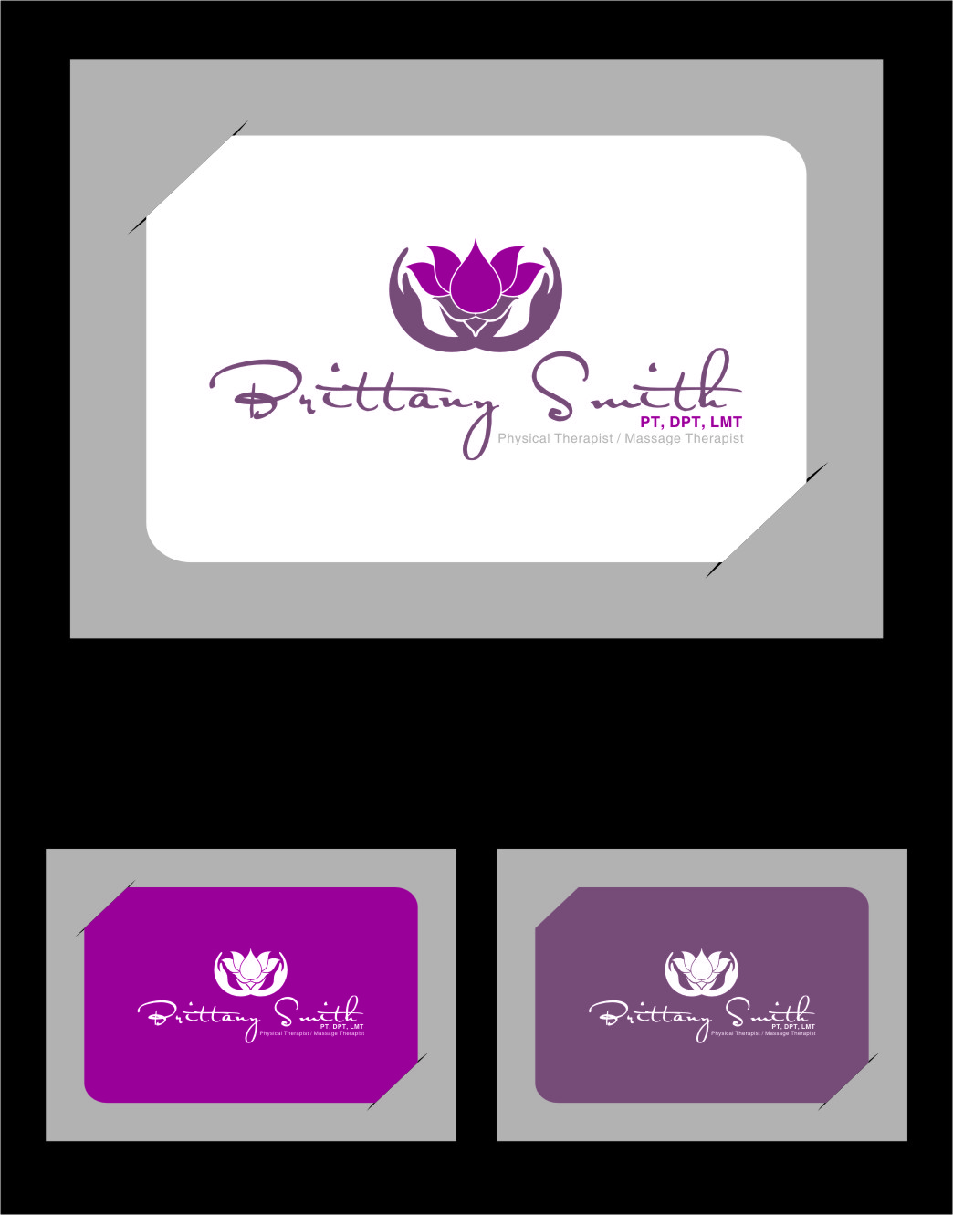 Logo Design by Ngepet_art - Entry No. 86 in the Logo Design Contest Artistic Logo Design for my personal massage therapy business.