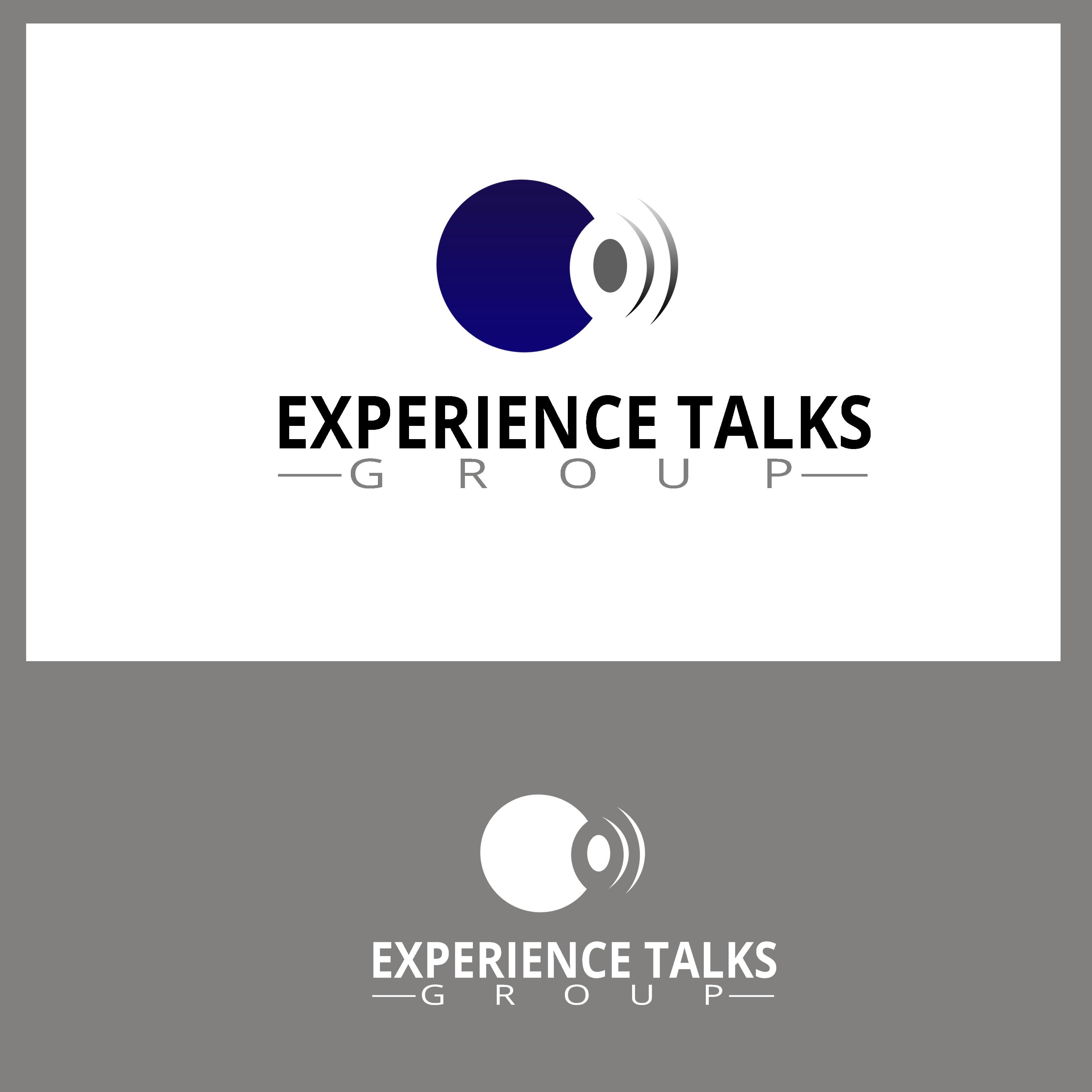 Logo Design by Allan Esclamado - Entry No. 15 in the Logo Design Contest Captivating Logo Design for Experience Talks Group.