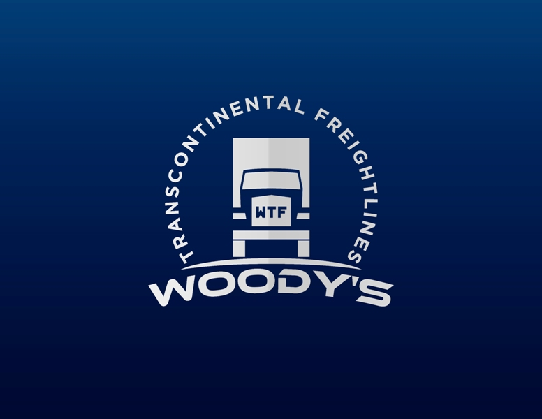 Logo Design by Juan_Kata - Entry No. 82 in the Logo Design Contest Creative Logo Design for Woody's Transcontinental Freightlines.
