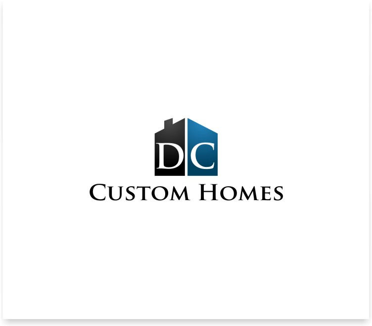 Logo Design by untung - Entry No. 41 in the Logo Design Contest Creative Logo Design for DC Custom Homes.