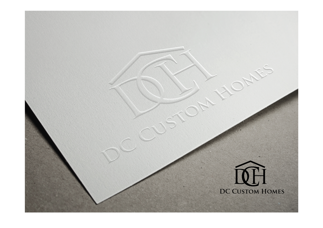 Logo Design by Severiano Fernandes - Entry No. 42 in the Logo Design Contest Creative Logo Design for DC Custom Homes.