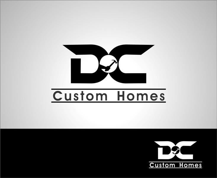 Logo Design by Mhon_Rose - Entry No. 43 in the Logo Design Contest Creative Logo Design for DC Custom Homes.