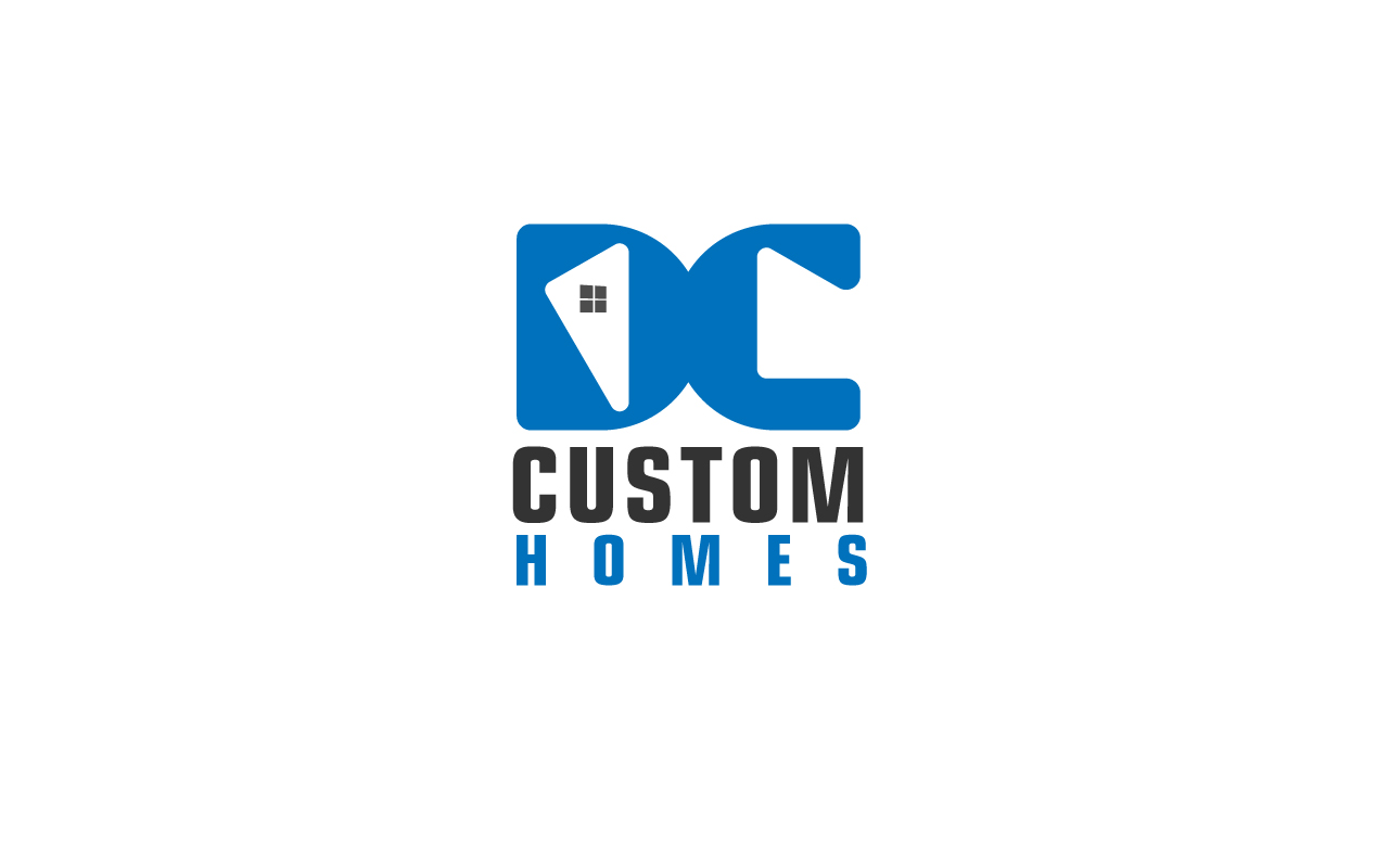 Logo Design by Jagdeep Singh - Entry No. 45 in the Logo Design Contest Creative Logo Design for DC Custom Homes.