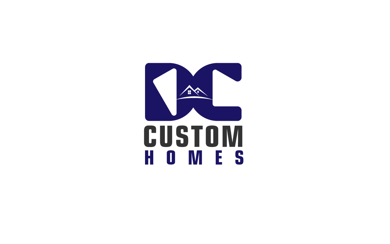 Logo Design by Jagdeep Singh - Entry No. 46 in the Logo Design Contest Creative Logo Design for DC Custom Homes.