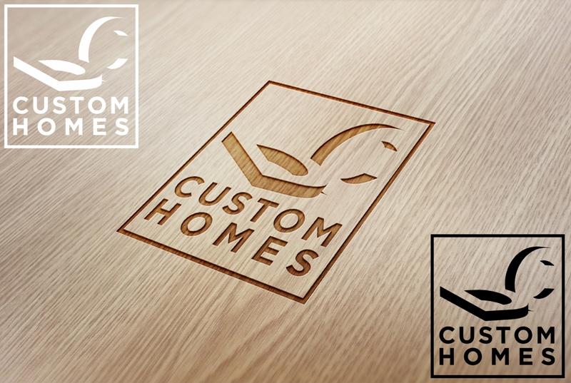 Logo Design by Juan_Kata - Entry No. 47 in the Logo Design Contest Creative Logo Design for DC Custom Homes.