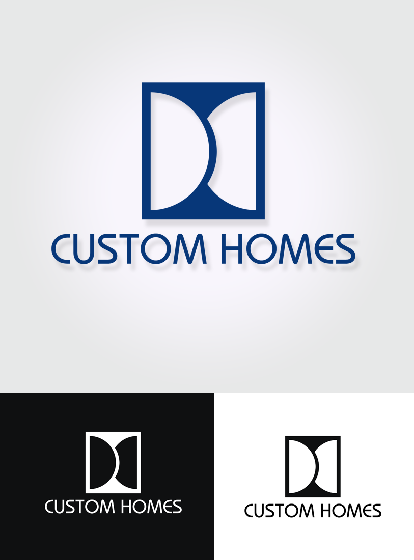 Logo Design by Private User - Entry No. 53 in the Logo Design Contest Creative Logo Design for DC Custom Homes.